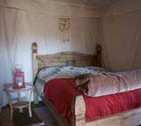 Double bedroom with en suite WC & shower