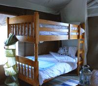Bunk bedroom with en suite WC & shower