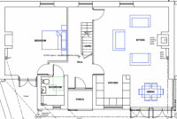 Cottage floor plan 1